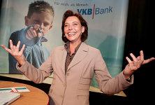 KörperSprache Redner Sabine Mühlisch bei der VKB